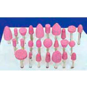 "Meda - Superior Import Mounted Point Kit Various Sizes - 1/8"" Shank, Pink, 50 pieces"