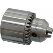 "Imported 3/16-1"" Key Type Ball Bearing Medium Duty Drill Chuck, 5JT"