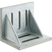 """Imported Slotted Angle Plates - Webbed End - Ground Finish 4-1/2"""" x 3-1/2"""" x 3"""""""
