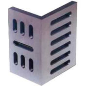 "Imported Slotted Angle Plates - Open End - Ground Finish 10"" x 8"" x 6"""