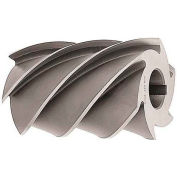 """Made in USA High Helix Plain Milling Cutter 3"""" Dia X 4"""" Width 1-1/4"""" Arbor"""