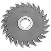 "Made in USA HSS Straight Tooth Side Milling Cutter 2-1/2"" Dia X 1/2"" Width 1"" Arbor"