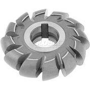 """Made in USA HSS Convex Milling Cutter, 1/2"""" Circle Dia. X 2-1/4"""" Cutter Dia x 1-1/4"""" Hole"""
