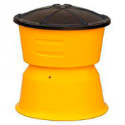TrafFix Devices Big Sandy® 48000 Series, 200-700 lb Capacity Barrel With Lid, 48247-AR