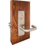 Extra HD Grade 1 Mortise Locks, Escutcheon Trims, Deadlock, Single Cylinder w/ Thumbturn, US26D