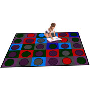 "Trendsetter Rugs Dots, Soft 4' x 5'8"" - T0118"