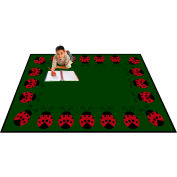 "Trendsetter Rugs Lady Bug, Rectangle 4' x 5'8"" - T0228"