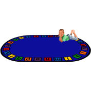 """Trendsetter Rugs A to Z, Oval 4' x 5'8"""" - T0332"""