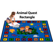 "Trendsetter Rugs Animal Quest, Rectangle 4' x 5'8"" - T0379"