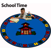 Trendsetter Rugs School Time, Round 4' - T0387