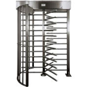 Manual Hi-Gate w/ Locked Exit - Stainless Steel