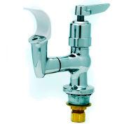 T&S Brass B-2360-01 Bubbler, Flexible Mouth Guard, Push Button Metering Handle