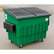 Toter 2 Yard Front Loading Dumpster, Brown - FL020-10117