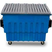 Toter 3 Yard Front Loading Dumpster, Blue - FL030-10045