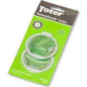 Toter PowerFresh Odor Eliminator Refill, .22 oz. Packet - PFRFO-00000