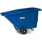 Toter® Heavy-Duty Universal Tilt Truck UT110-00BLU - 1 Cubic Yard Cap., 1200 Lb. Cap.
