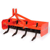 Tarter Farm & Ranch 3-Point 4' Box Blade Sc BBSC4 - Orange
