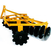 "Tarter Farm & Ranch 3-Point 6' Medium-Duty Tillage Disc 18"" Blades MDD6 - Yellow"