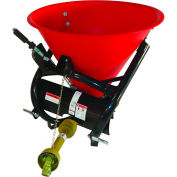 Tarter Farm & Ranch 3-Point Fertilizer Spreader-Poly Tub Model 50 PFS - Red