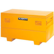 "Heavy Duty Medium 48"" Job Site Box, Steel, Yellow 08048Y"