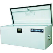 "Light Duty Large 42"" Job Site Box, Steel, White 88048"