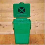 """ECO Kitchen Compost Pail, 8-1/2""""L x 9""""W x 11""""H"""