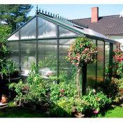 """Royal Victorian VI 34 Polycarbonate Greenhouse, 15'L x 10' 2""""W x 9'H"""