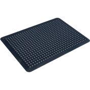 "Transforming Technologies ComfortDOME ESD Anti Fatigue Mat 1"" Thick 3' x 4' Black"