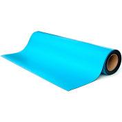"Transforming Tech ESD Rubber Matting MT4524, 24""x50'x0.080"" - Blue"