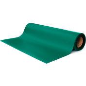 "Transforming Tech ESD Rubber Matting MT4524, 24""x50'x0.080"" - Green"