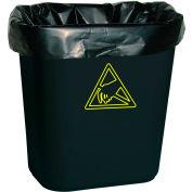 Transforming Tech Conductive Trash Liners WBASLB Black, 7-10 Gal