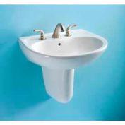 TOTO® LT241G-01 Supreme® 1, Hole SG Lavatory, Cotton White