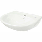 TOTO® LT241G-11 Supreme® 1, Hole SG Lavatory, Colonial White