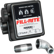 Fill-Rite 807CMK, In-line Flow Meter, 5-20 GPM