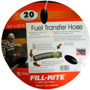 "Fill-Rite FRH07520, 3/4"" x 20' Retail Hose Designed for Use with All Electric Pumps"