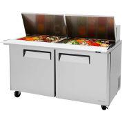"""M3 Series - Mega Top Sandwich/Salad Table 60-1/4""""W - 2 Door"""