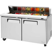 "M3 Series - Sandwich/Salad Table 60-1/4""W - 2 Door"