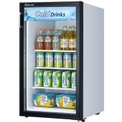 "Turbo Air TGM-5R-N6 - Merchandiser Refrigerator, Swing Glass Door, Counter Top, 5 Cu. Ft., 34-1/8""H"