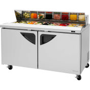 "Super Deluxe Series - Sandwich/Salad Table 60-1/4""W - 2 Door"