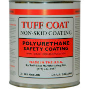 Tuff Coat 1 Gallon Safety Yellow, Non-Skid Coating - UT-100AQ