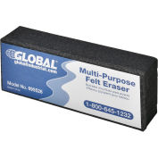 Global Industrial Dry Erase Eraser - Pack of 6