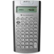 "Texas Instruments Professional Calculator, BAIIPLUSPRO, 9-5/8"" X 6-7/8"" X 1-1/3"", Silver"