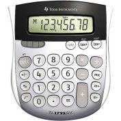 """Texas Instruments 8-Digit Calculator, TI1795SV, W/Tax Key, 4-7/8"""" X 5-2/3"""" X 1"""", Grey"""