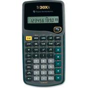 "Texas Instruments 10-Digit Scientific Calculator, TI30XA, Battery Power, 3-1/10"" X 6"" X 4/5"", Black"