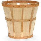1/2 Bushel Hamper Wood Basket 12 Pc - Natural - Pkg Qty 12