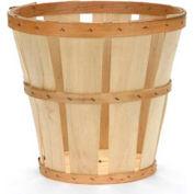 1/2 Bushel Hamper Wood Basket 12 Pc - Mahogany Stain - Pkg Qty 12