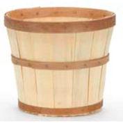 """T12 (12"""" Dia x 10-3/4""""H) Wood Basket 12 Pc - Natural - Pkg Qty 12"""