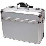 """TZ Case, Wheeled Case, 18-1/4""""L x 8""""W x 13-3/4""""H, Silver Dot"""