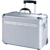 """TZ Case, Wheeled Case, 18-1/4""""L x 10""""W x 13-3/4""""H, Silver Dot"""