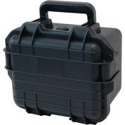 """TZ Case Cape Buffalo Waterproof Utility Case CB-009-B - 11-3/4""""L x 9-3/4""""W x 7-3/4""""H Black"""